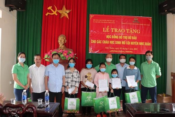 Thanh Hoá: Công ty Tiến Nông đồng hành cùng trẻ em có hoàn cảnh đặc biệt khó khăn.