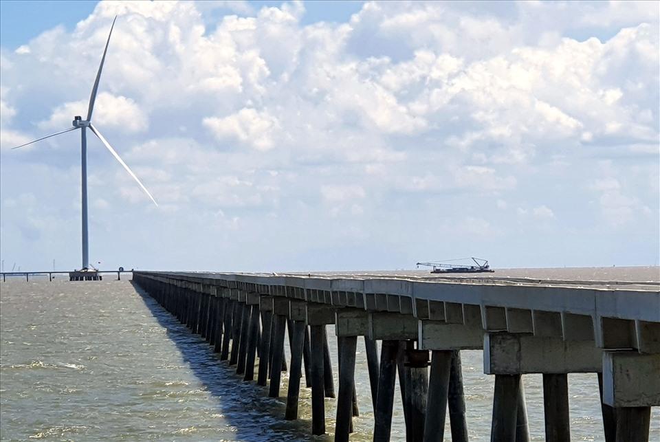 Cận cảnh công trình điện gió 5.000 tỉ trước giờ vận hành