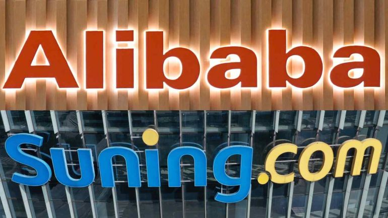 Nhà bán lẻ Suning.com của Trung Quốc nhận được gói cứu trợ từ chính quyền địa phương và gã khổng lồ Alibaba