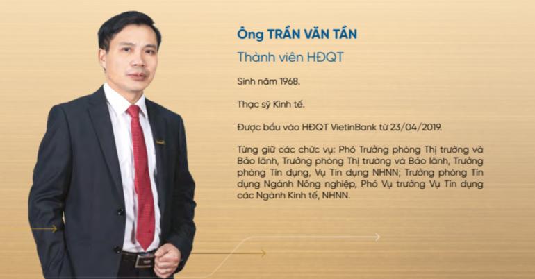 Chân dung tướng mới của VietinBank