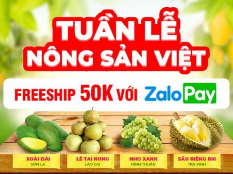 """Khai trương """"Tuần lễ Nông sản Việt"""" trên Sàn thương mại điện tử Sendo"""