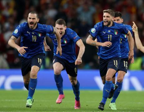 Euro 2020: Ý vào chung kết sau khi thắng Tây Ban Nha bởi loạt đá luân lưu
