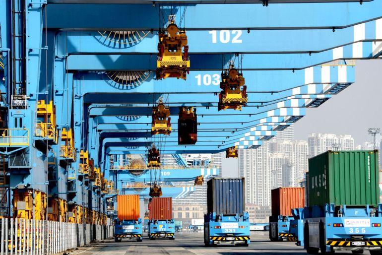 Thương mại xuất khẩu Trung Quốc khởi sắc thu hút đầu tư trở lại