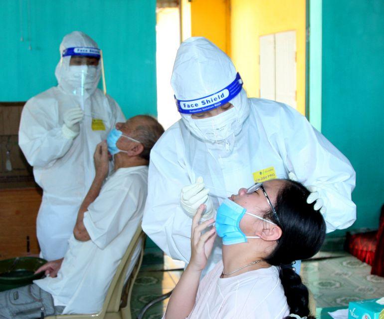 Hải Phòng: Trung tâm truyền thông GDSK (CDC) thông tin về tình hình dịch bệnh Covid 19