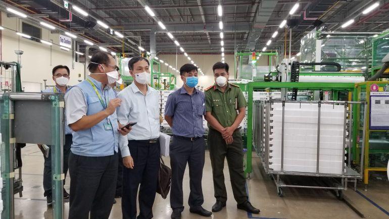 TP. Hồ Chí Minh: Tạm dừng sản xuất tại các doanh nghiệp có nguy cơ cao để phòng chống dịch Covid-19