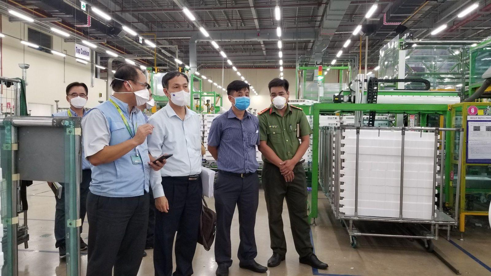 TP. HCM: Tạm dừng sản xuất tại các doanh nghiệp có nguy cơ lây lan dịch Covid 19