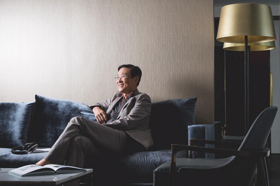 Tỷ phú Peter Woo. Nguồn ảnh: Internet