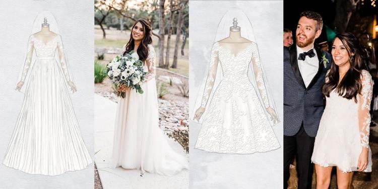 Thiết kế váy cưới online