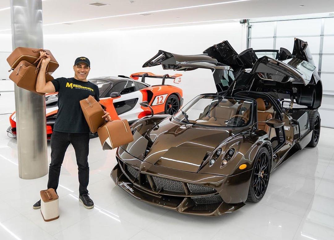 Tỷ phú người Mỹ – Manny Khoshbin là tỷ phú bất động sản nổi tiếng với bộ sưu tập siêu xe độc nhất thế giới. Nguồn: Internet