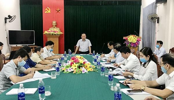 Phó bí thư Thường trực Tỉnh ủy Quảng Bình làm việc với Hội Luật gia tỉnh