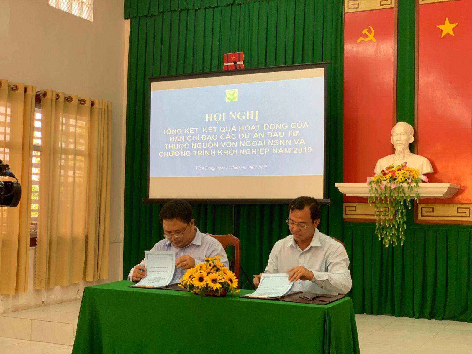 Ký kết phối hợp xây dựng Hệ sinh thái khởi nghiệp cùng Ông Trương Đặng Vĩnh Phúc, GĐ Sở KH và ĐT (2020)