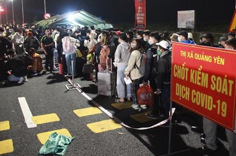 Doanh nghiệp cần biết: Quảng Ninh tạm thời không chấp nhận người vào tỉnh bằng phương pháp test nhanh kháng nguyên SARS-CoV-2