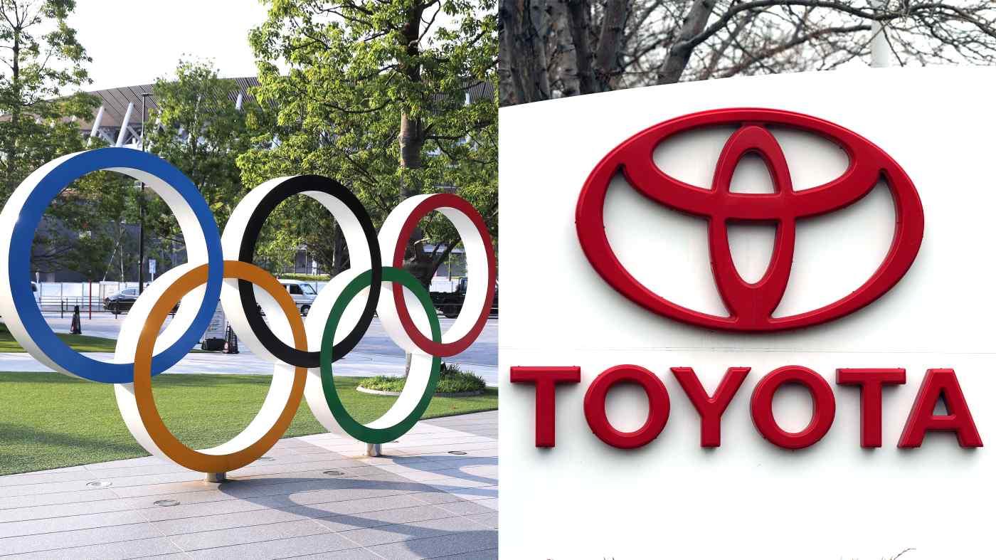 Toyota đã quyết định không chạy bất kỳ quảng cáo truyền hình nào liên quan đến Olympic ở Nhật Bản vì tình cảm của công chúng đối với sự kiện thể thao này vẫn còn lẫn lộn. (Nguồn ảnh của Yo Inoue và AP)