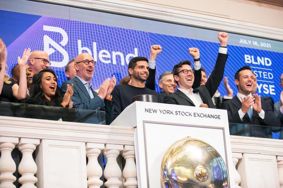 Blend đã huy động được tổng cộng 360 triệu đô la thông qua IPO vào ngày hôm qua và có giá trị thị trường gần 4 tỷ USD (Nguồn : NYSE).