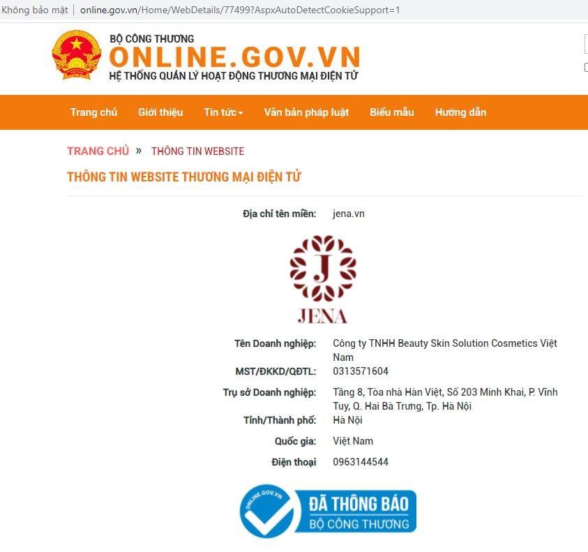 Truy cập website https://www.jena.vn/ để được mua hàng chính hãng!.