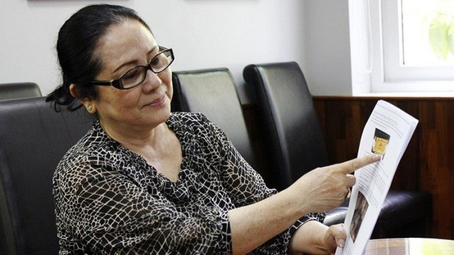 Bà Dương Thị Bạch Diệp. Nguồn: Internet