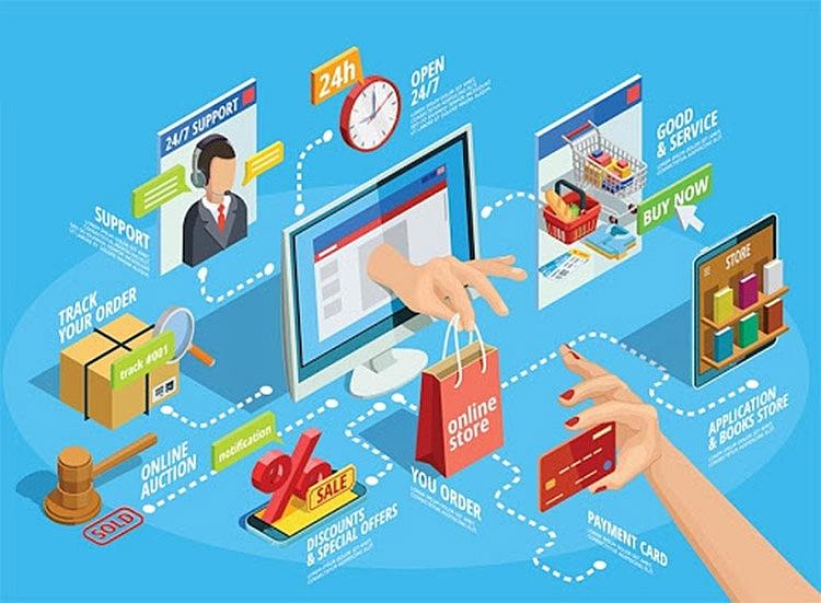 Thương mại điện tử là điểm sáng trong tăng trưởng kinh tế