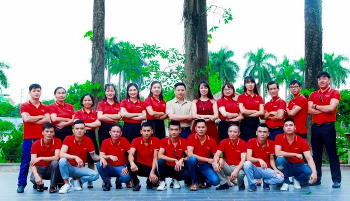 BLĐ cùng các nhân sự nòng cốt tạo lên thương hiệu Wintec.