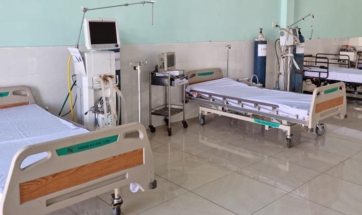 Giường dành cho bệnh nhân cần sử dụng máy thở oxy