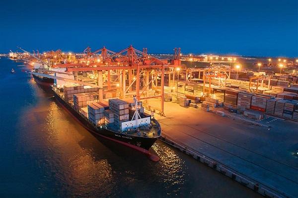 Đêm trên Cảng Tân Vũ