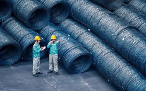 Chi phí nguyên liệu thấp hơn Trung Quốc, sản phẩm thép Việt Nam có lợi thế cạnh tranh