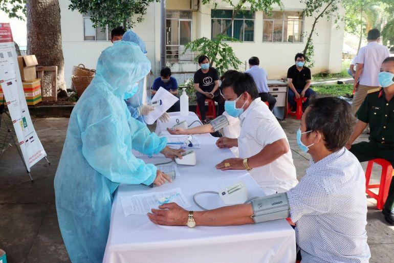 Bình Dương: Tổ chức Lễ phát động tiêm vaccine cho 1 triệu dân
