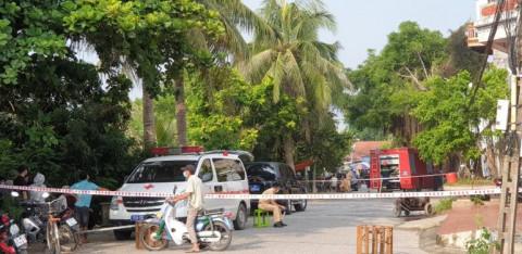 Hải Phòng: Cháy quán bán hàng, 2 vợ chồng chết chưa rõ nguyên nhân