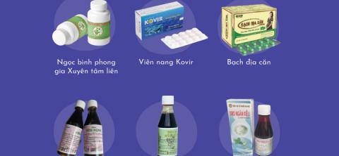 12 loại thuốc cổ truyền hỗ trợ điều trị COVID-19 là những sản phẩm nào?