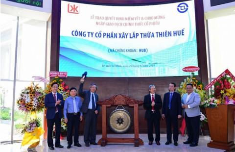 Lãi ròng của Xây lắp Thừa Thiên Huế chỉ đạt hơn 21 tỷ đồng