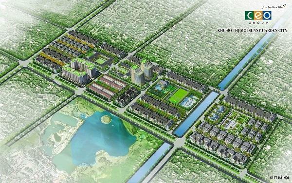 Hình ảnh phối cảnh Dự án khu đô thị Quốc Oai