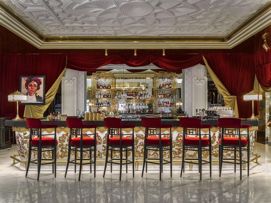 Quầy bar Diva_s Lounge tại KS Capella Hanoi