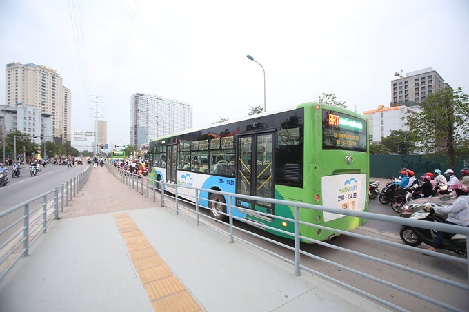 Thanh tra Chính phủ: Xe buýt nhanh Hà Nội chưa đạt hiệu quả như mong đợi