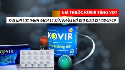 Quản lý thị trường tăng cường kiểm tra, kiểm soát vụ 'thực phẩm kháng COVID-19' tăng giá đột biến
