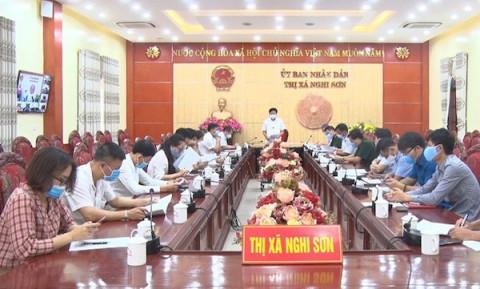 Thanh Hoá: Thị xã Nghi Sơn tăng cường các biện pháp cấp bách phòng chống dịch
