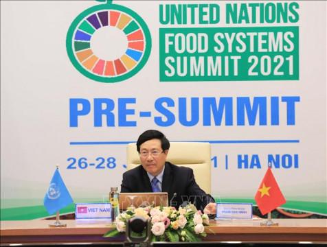 Việt Nam mong muốn trở thành 1 trung tâm sáng tạo về hệ thống lương thực, thực phẩm của khu vực Châu Á