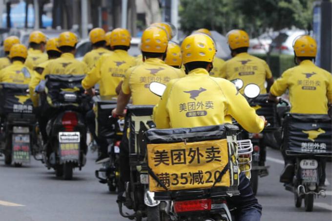 Meituan, Tencent và Alibaba bốc hơi hàng trăm tỷ đô la giá trị thị trường