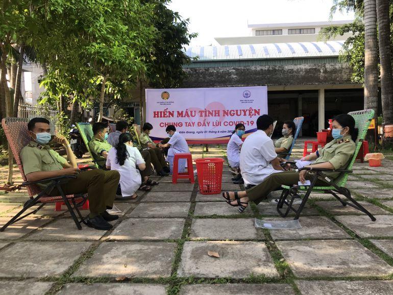 Kiên Giang phấn đấu tiếp nhận tối thiểu 1.600 đơn vị máu trở lên trong tháng 8/2021