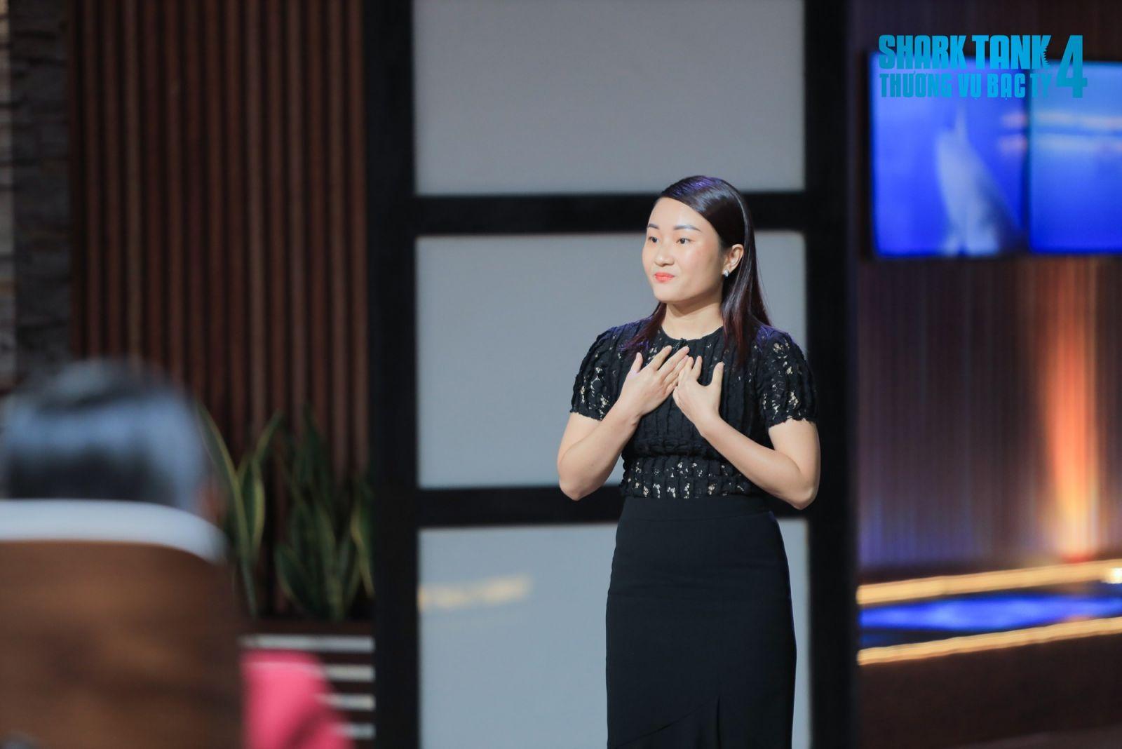 Nguyễn Ngọc Lan Anh – Nhà sáng lập và điều hành công ty EIY. Ảnh: Shark tank Việt Nam