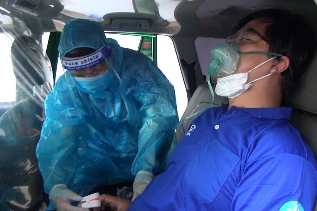 200 xe taxi Mai Linh tham gia phản ứng nhanh hỗ trợ y tế tại tâm dịch TP Hồ Chí Minh
