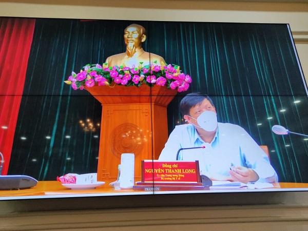 GS.TS Nguyễn Thanh Long - Bộ trưởng Bộ Y tế giao các Bệnh viện tuyến TW thiết lập 3.000 giường hồi sức trên địa bàn TP Hồ Chí Minh, Giám đốc các bệnh viện Trung ương sẽ làm giám đốc các bệnh viện hồi sức COVID-19 này