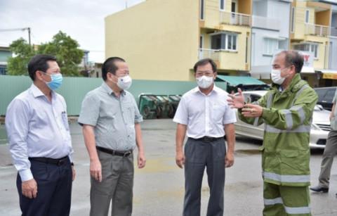 Kiên Giang: Kiểm tra công tác phòng, chống dịch bệnh COVID-19 trên địa bàn TP. Rạch Giá