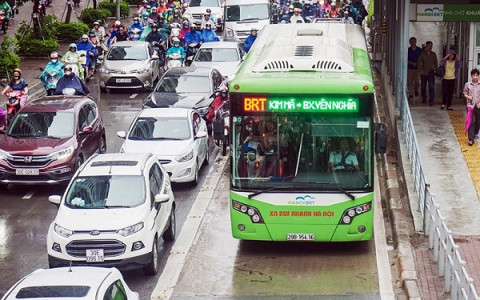 """Dự án buýt nhanh BRT Hà Nội """"cõng"""" hàng loạt sai phạm"""