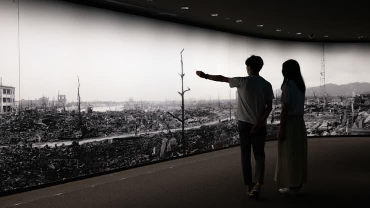 Những thước phim hồi tưởng vụ đánh bom ở Hiroshima