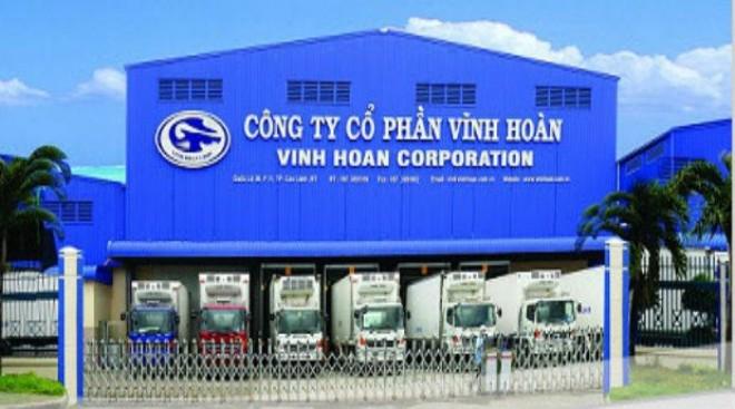 Trụ sở của Công ty CP Vĩnh Hoàn tại Đồng Tháp