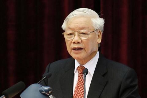 """Tổng Bí thư Nguyễn Phú Trọng kêu gọi """"toàn dân tộc muôn người như một"""" để phòng chống đại dịch Covid-19"""