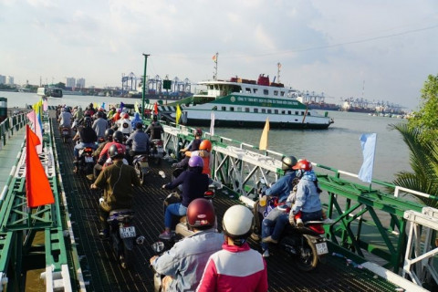 TPHCM: Phà Cát Lái và Bình Khánh dừng phục vụ hành khách