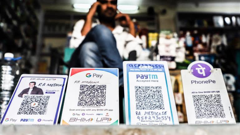 Nhà cung cấp dịch vụ thanh toán kỹ thuật số Paytm được các nhà đầu tư đánh giá cao, nhưng sự cạnh tranh trên thị trường fintech Ấn Độ rất khốc liệt. © Hình ảnh Getty