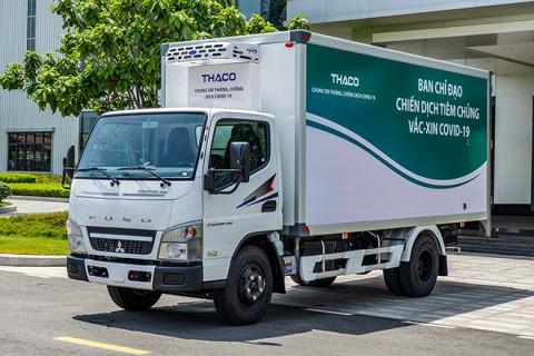 Dòng xe vận chuyển, tiêm vaccine lưu động của Thaco được thiết kế khác biệt như thế nào?