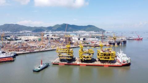 Doanh nghiệp Việt Nam trúng thầu dự án chế tạo giàn khoan lớn nhất thế giới