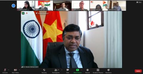 Hội Doanh Nghiệp Ấn Độ tại Việt Nam (INCHAM) trao tặng máy ECMO tại TP. Hồ Chí Minh
